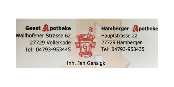 Geest Apotheke I Hamberger Apotheke
