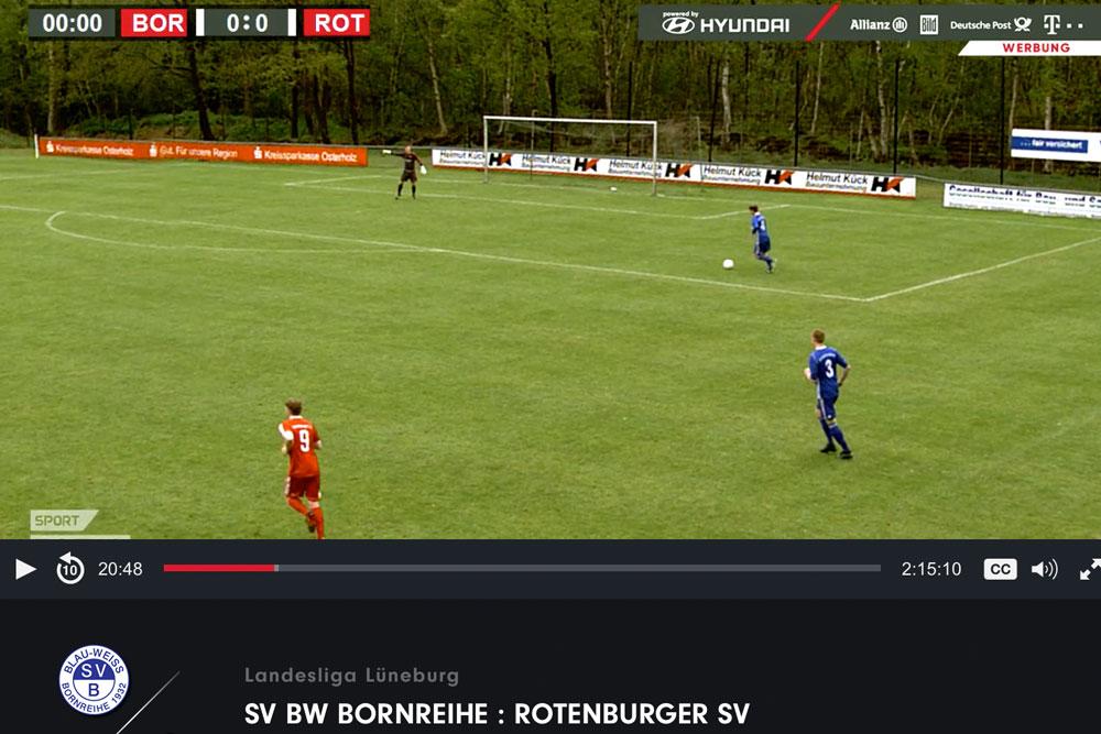 Alle Heimspiele live bei sporttotal.tv
